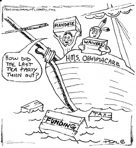 HMS ObamaCare Tea Party  (10-03-2013)