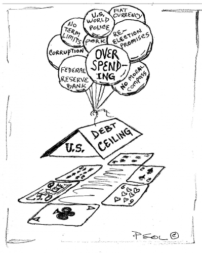 U.S. Debt Ceiling House of Cards  (09-27-2013)