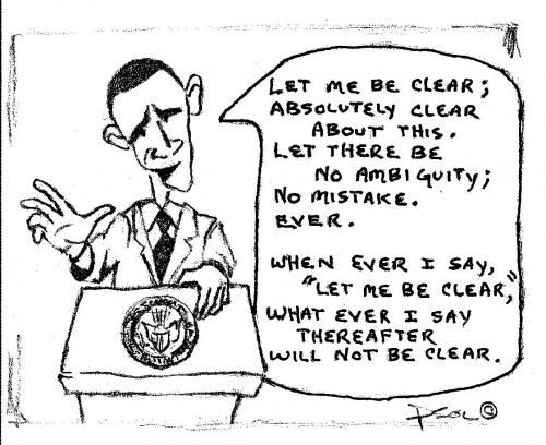 Obama:  Let Me Be Clear  (09-15-2013)