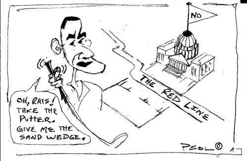 Obama's Red Line Syria  (09-09-2013)